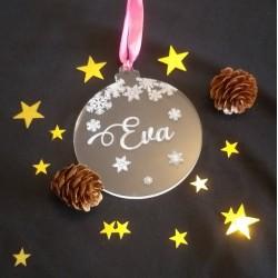 Boule de Noël acrylique